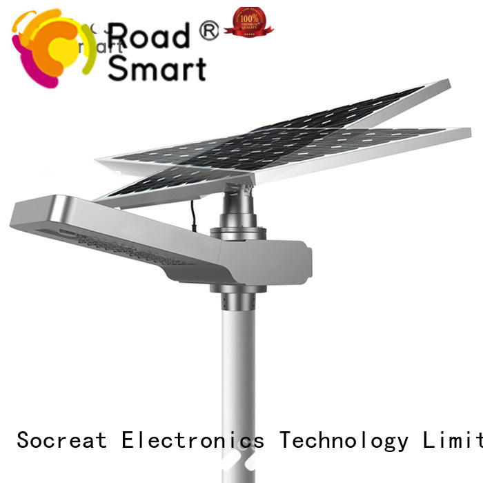 hot sale solar panel lamp with five years warrantyfor road