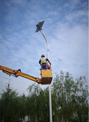 Road Smart-High Brightness 154 Led Solar Street Light | Solar Flyhorse-4