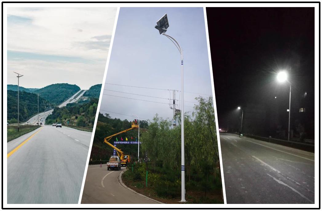Hot solar powered lamp highway Road Smart Brand