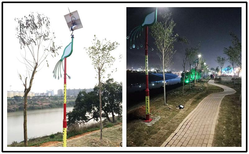 Road Smart-Wireless Smart Solar Garden Light | Solar Panel Garden Lights-2