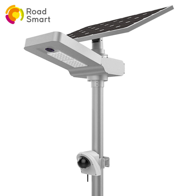 Integrated Solar Street Light with Camera