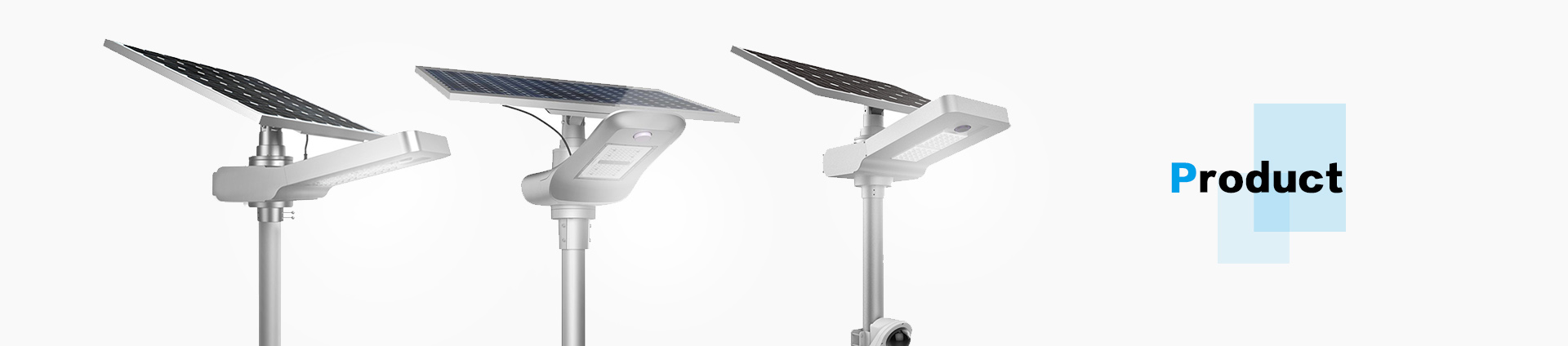 High Brightness 154 LED Solar Street Light-Road Smart