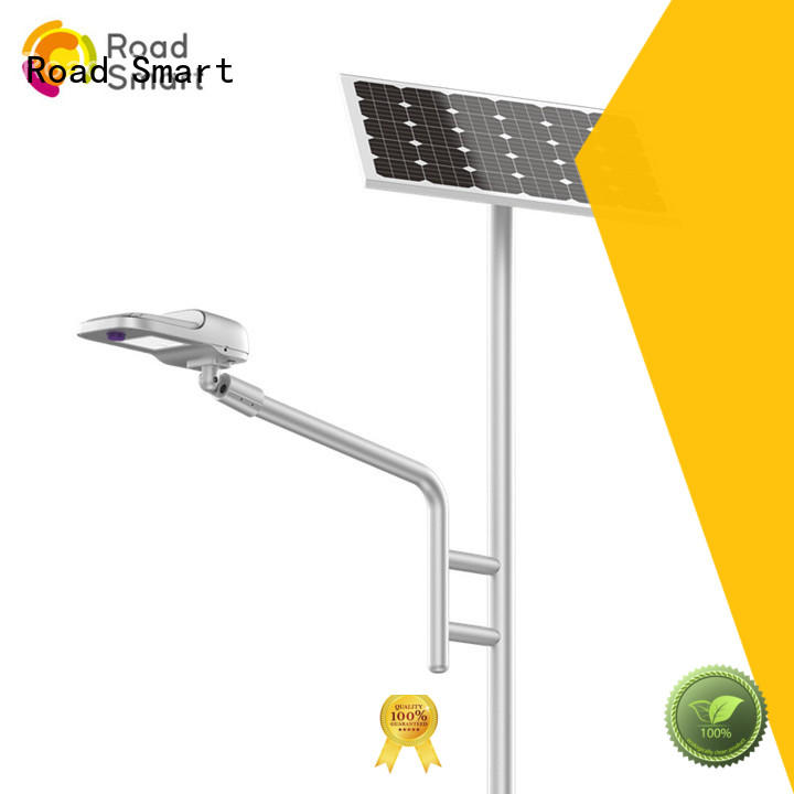 Road Smart solar pole lights factory for driveway