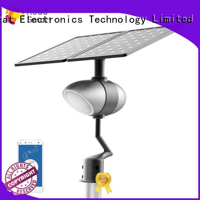 Quality Road Smart Brand best solar path lights app solar