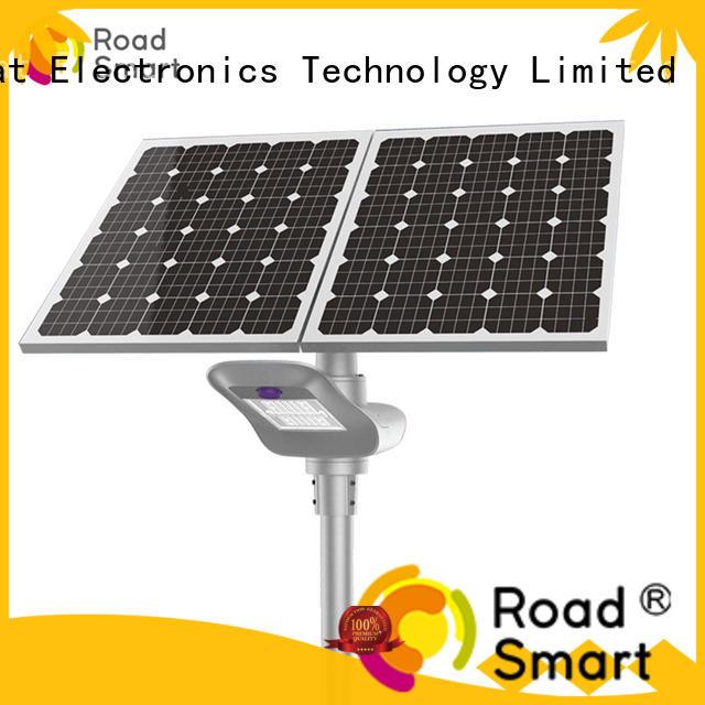 Road Smart smart controller solar powered lamp online for school