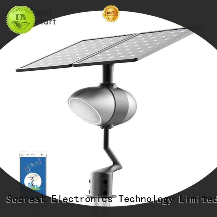 Road Smart new solar garden lamps supply for apartment