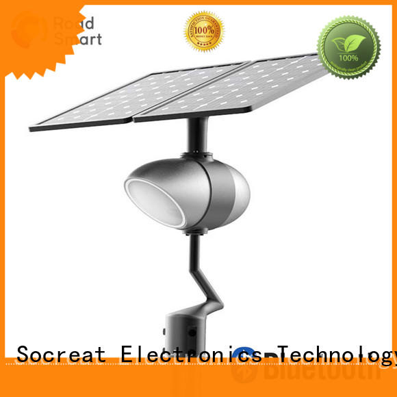 Road Smart best solar powered outside lights company for walkway