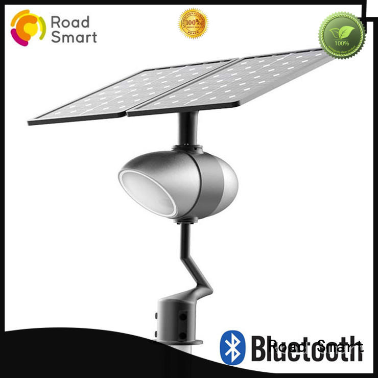 efficient solar powered outside lights with music play function for hotel