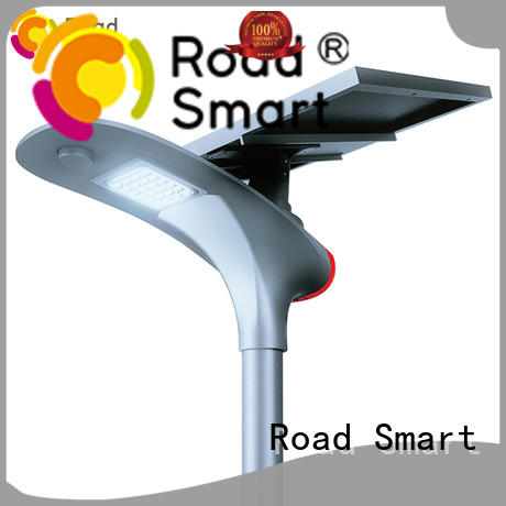 Road Smart top solar panel outdoor lights with motion sensor for parking lots