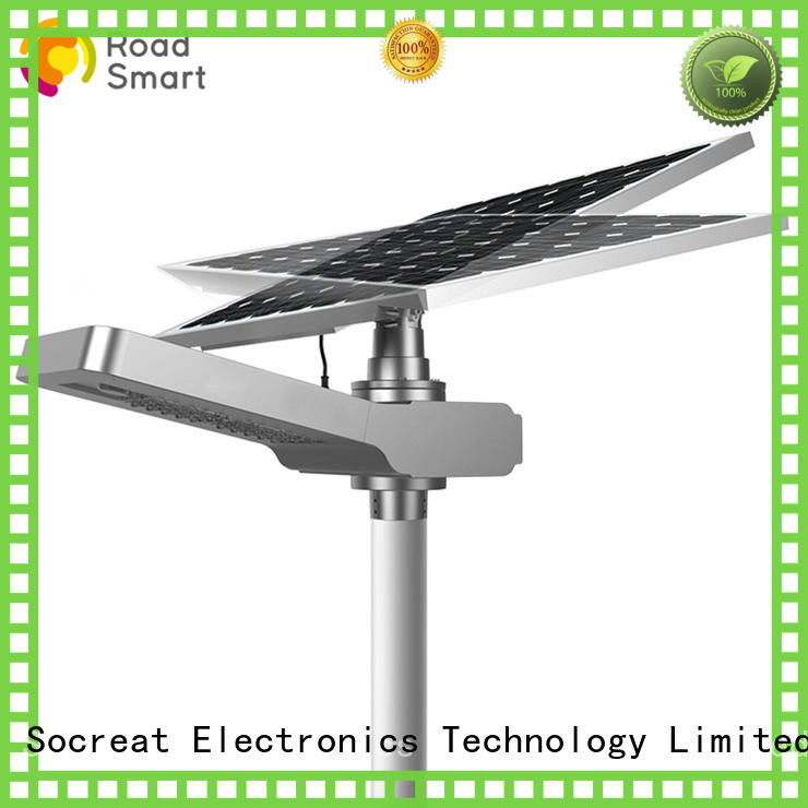 new solar panel lamp performance for hotel