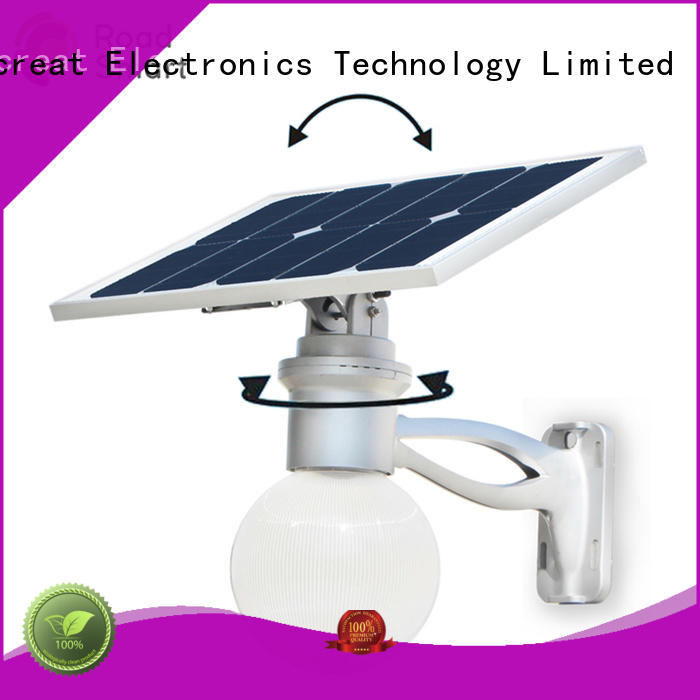Road Smart solar garden lamps wholesale for hotel
