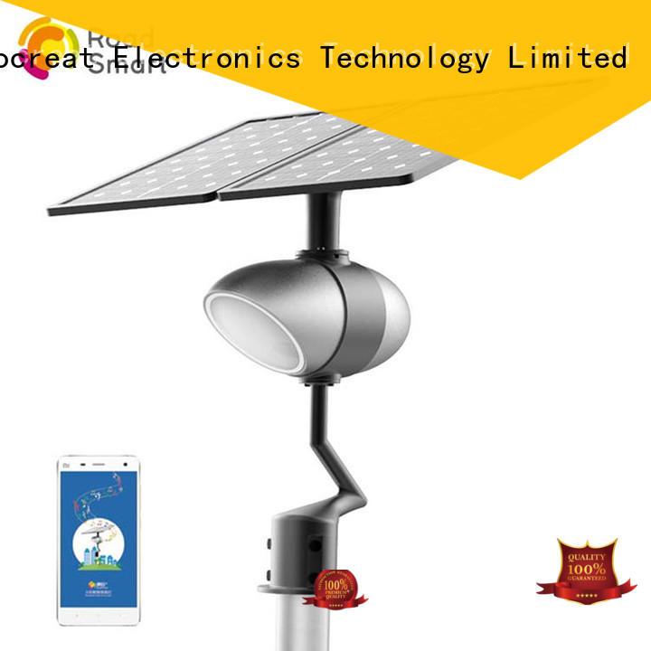 Road Smart Brand smart control best solar path lights