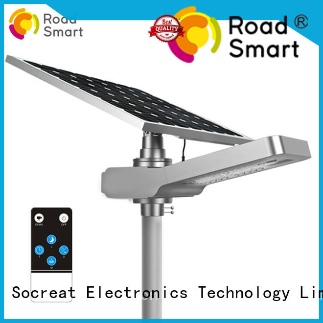 integrated outdoor solar light with remote manufacturer for walkway