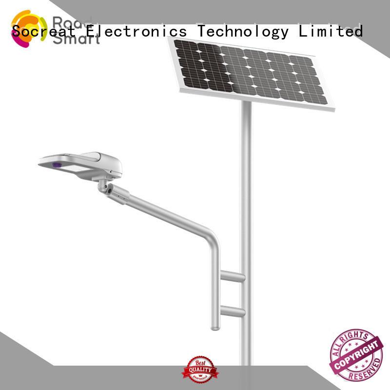 Road Smart solar street lighting system smart road lighting for driveway
