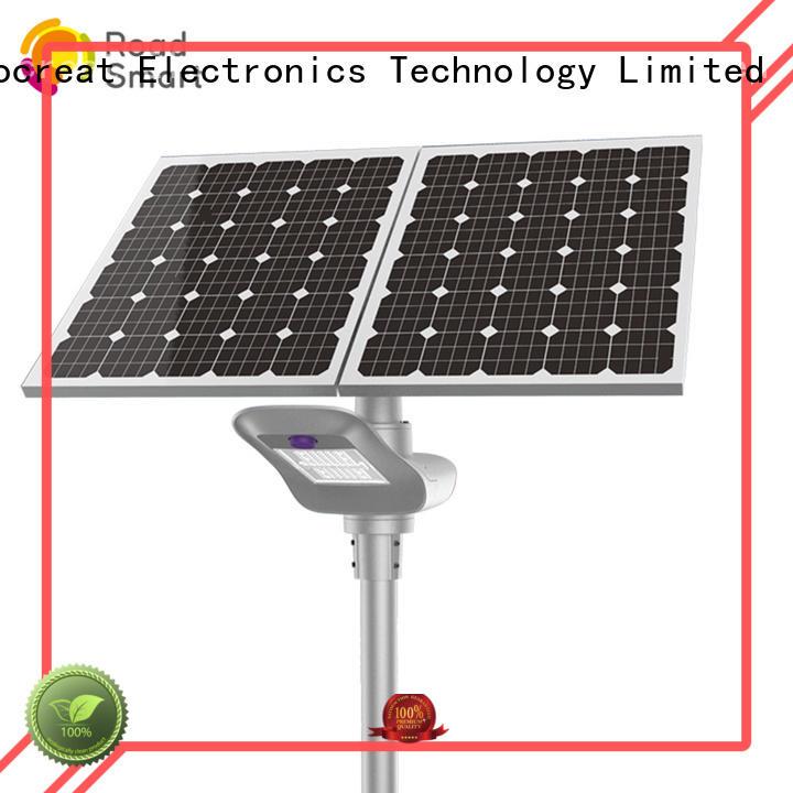 Road Smart wholesale solar street light project manufacturer for village