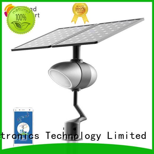 Road Smart app control best solar path lights designed for park