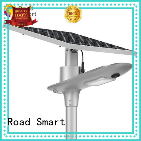 Road Smart high quality solar panel street light with compass embedded for school