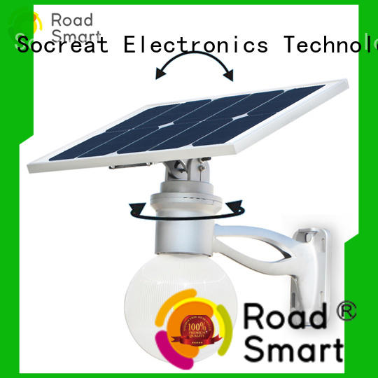 Road Smart solar garden lamps supply for road