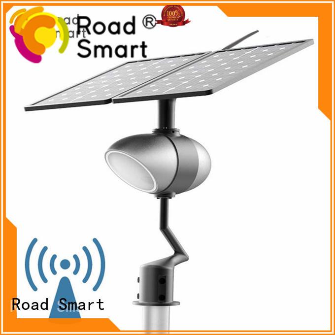 Road Smart solar panel garden lights factory for villa