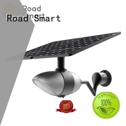 Road Smart solar panel garden lights supplier for villa