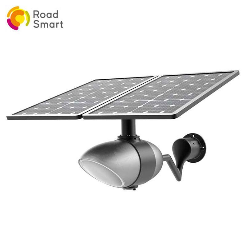 Intelligent Outdoor Street Garden Solar Lamp with App Control