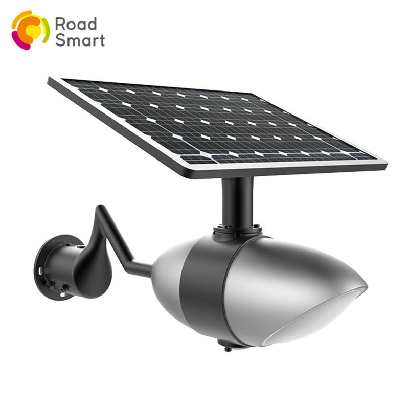 Road Smart Outdoor Solar Street Garden Light with Bluetooth Speaker by Mobile Phone