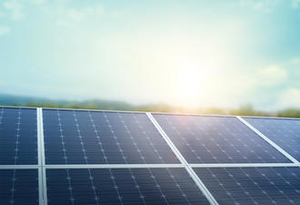 What are the components of solar panel?