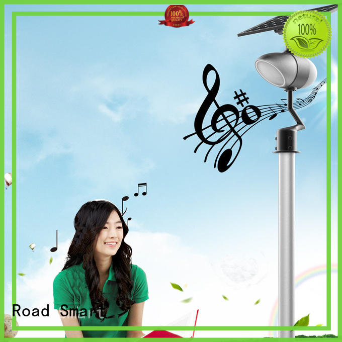 Road Smart intelligent solar powered outside lights for busniess for pathway