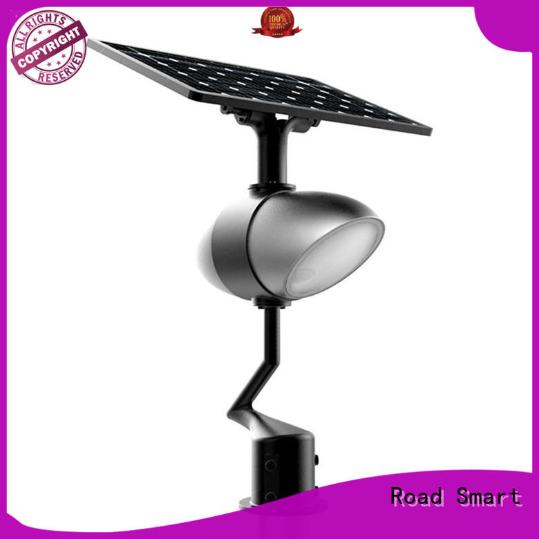 Road Smart backyard solar lights with time control for park