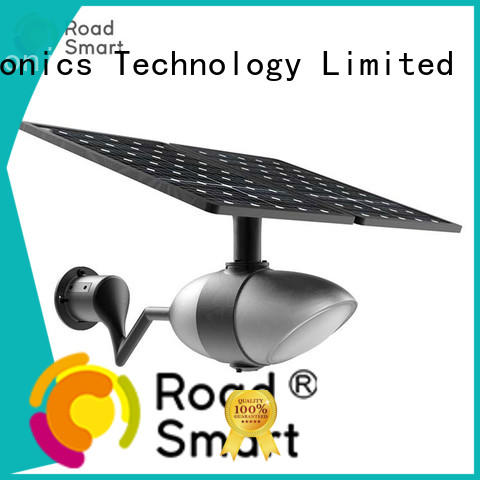 Road Smart solar street lights for garden factory for hotel