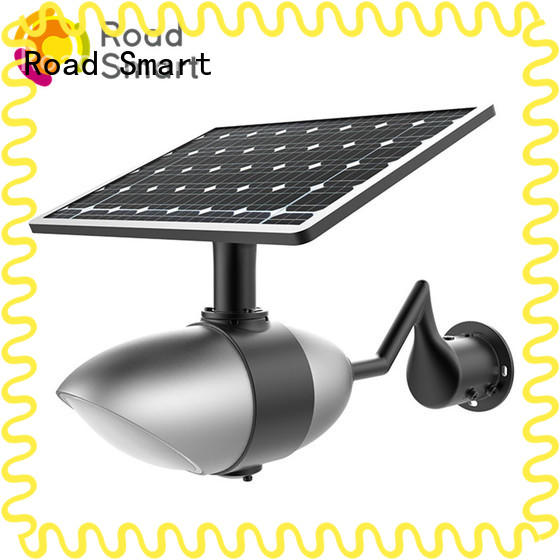 Road Smart Solar Park Light with adjustable panel for road