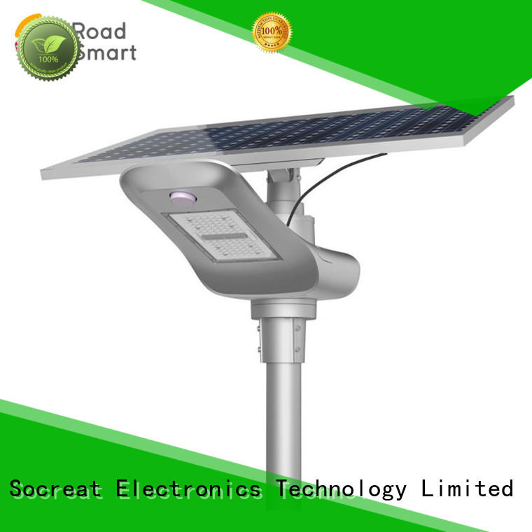 customized solar lamp manufacturer for highway Road Smart