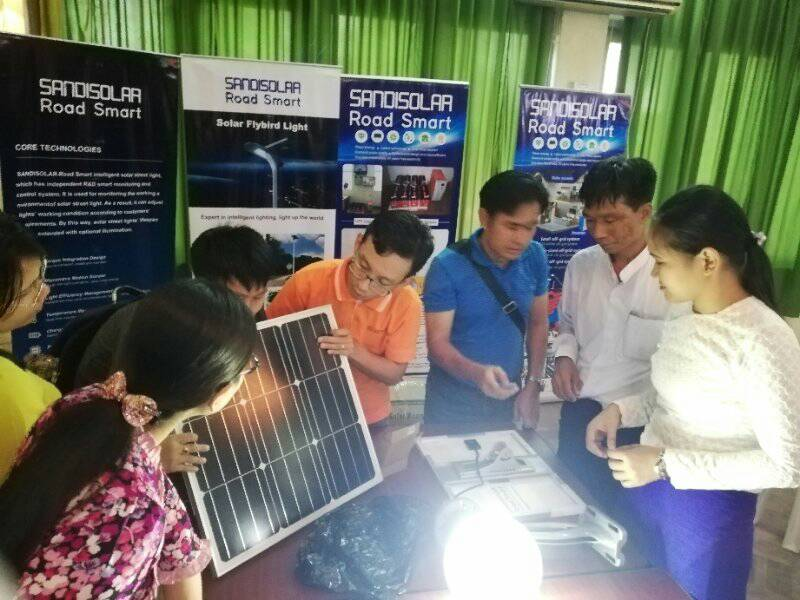 Road Smart-International Exchange-the Application Of Photovoltaic Technology
