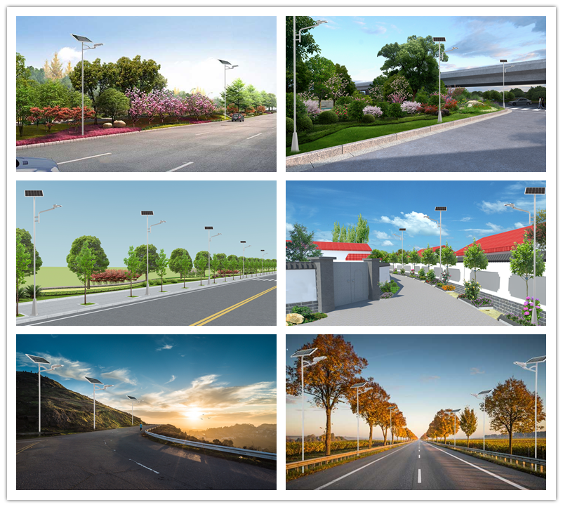 Road Smart-Solar Pole Lights Manufacture | Factory Wholesale Very Bright 60 Led Solar-4