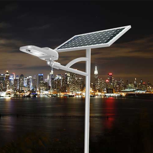 Road Smart-Solar Street Lighting System, High Quality High Lumen Angle Adjustable-1