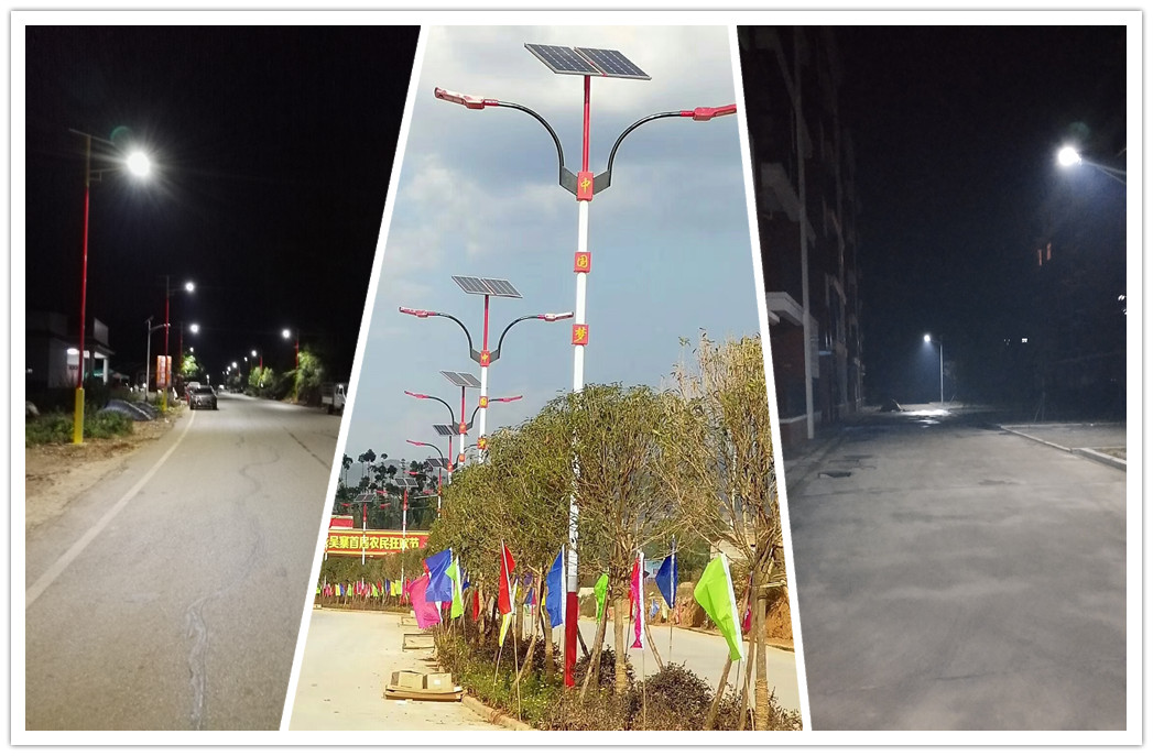 Road Smart-Solar Street Lighting System, High Quality High Lumen Angle Adjustable-5