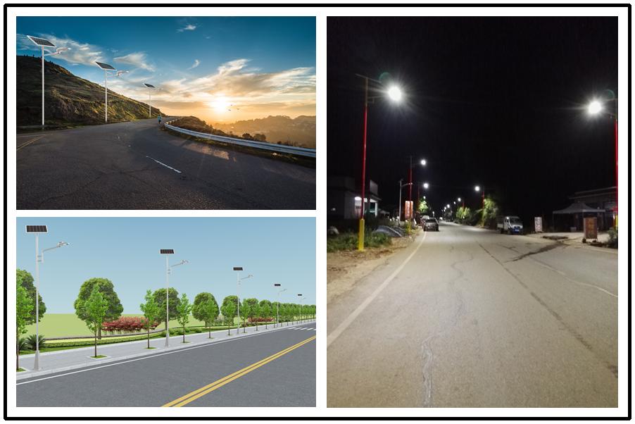 Road Smart-Solar Pathway Light | Ip65 Rechargeable Solar Pathway Street Light Outdoor-11