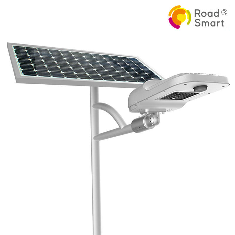 Competitive Price High Power 60 led Motion Sensor Intelligent Solar Street Light with Li-ion Battery