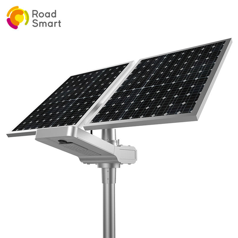 60w Super Bright Highway Square Outdoor Integrated Solar Street Light