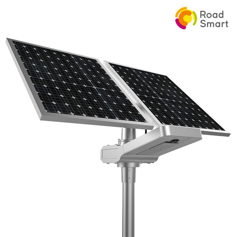 Smart Controller Super Bright 50w 60w Highway Solar Led Street Light