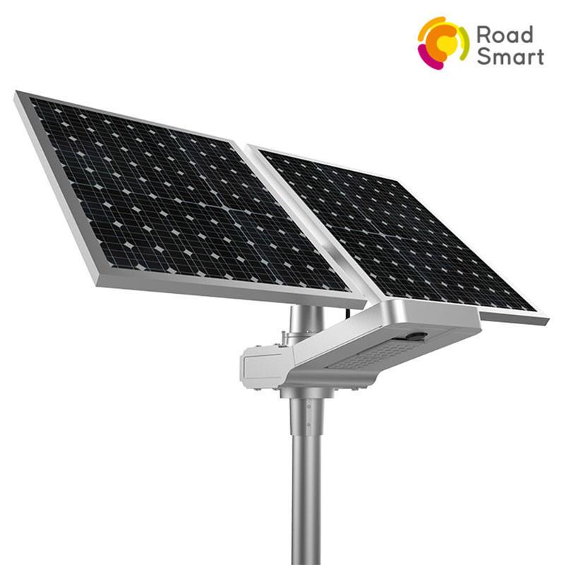 Smart Controller Super Bright 50w 60w Highway Solar Led Street Light