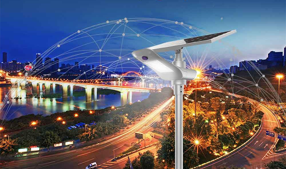 Intelligent IoT Street Light with LoRa NB-IoT 4G GPRS Technology