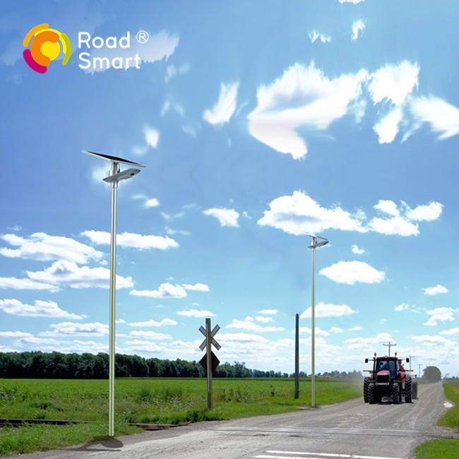 Outdoor Integrated Solar Street Led Light with Intelligent Control System
