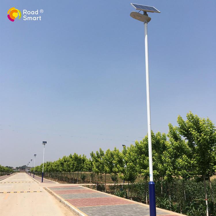 Intelligent Outdoor Solar LED Street Light for Pathway Park Village