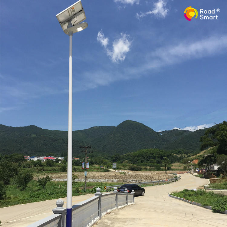 180lm/w Road Smart solar street lamp led street lights with motion sensor
