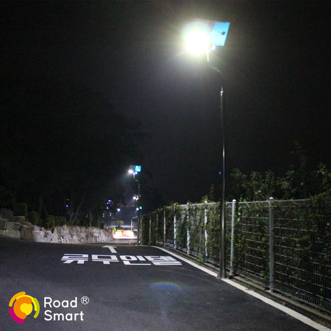 IP65 solar power street lamp post street lighting with remote control