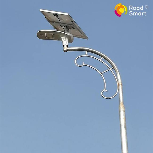 beautiful outdoor solar powered street light for garden park sidewalk