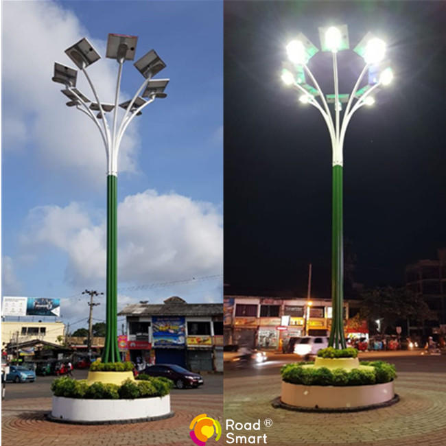 Super Bright Solar Street Light Outdoor for Driveway