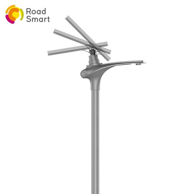 high power solar street light integrated with inbuilt lifepo4 battery
