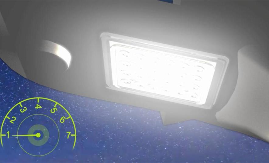 Lumen Solar Led Parking Lot Lights With